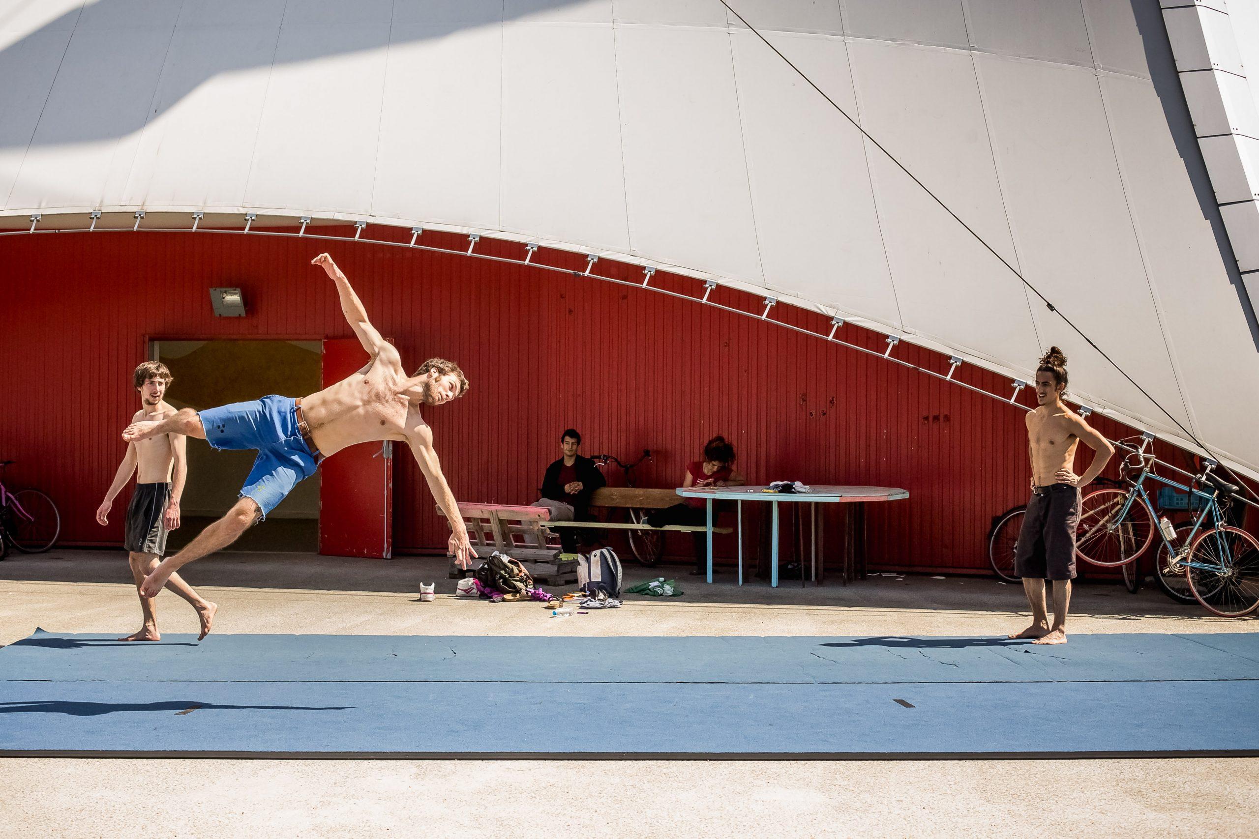 acrobatie en extérieur